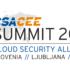 Logotip letošnje konference CSA za srednjo in vzhodno Evropo (vir: CSA Slovenija).