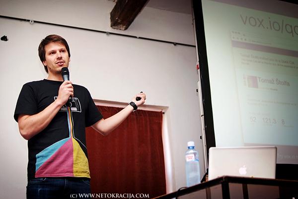 Stolfa founded Vox.io more than 2 years ago (Photo by Marina Filipovic Marinshe)