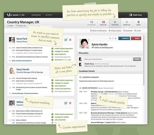 Online resume startup