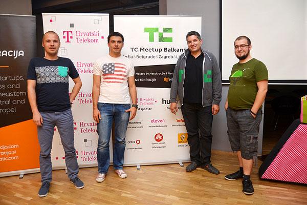 Cosmin Ochisor, hub:raum, Dilyan Dimitrov, Eleven, John Biggs, TechCrunch, Ivan Brezak Brkan, Netocratic (Photo: Marina Filipovic Marinshe)