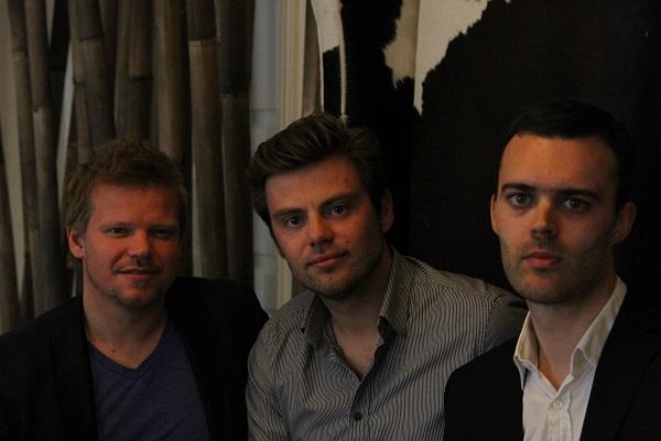 Podio Founders left to right: Jon Froda, Kasper Hulthin, Anders Pollas.