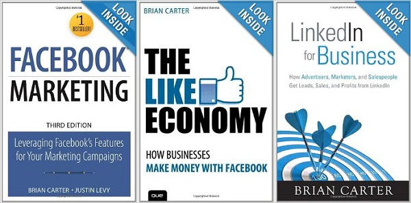 Some of Brian Carter's books.