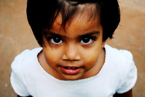 Girl from Kismathupur orphanage.