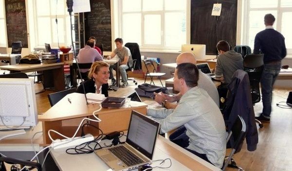 Eleven's coworking space - The Roof