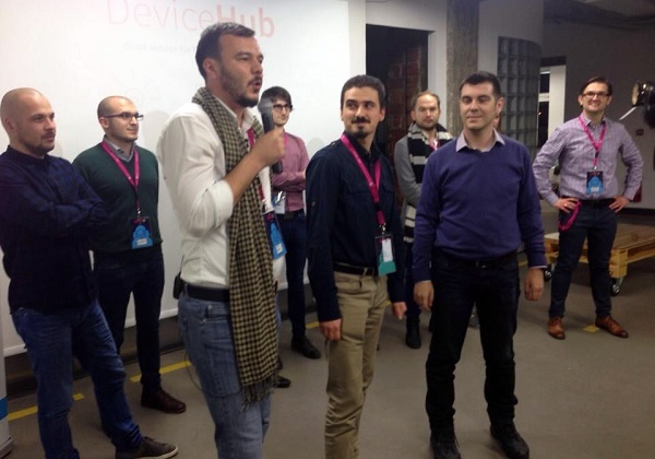 The winner is DeviceHub, a startup that helps you to understand all the data connected devices send to each other.