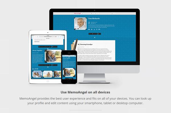 MemoAngel web mobile