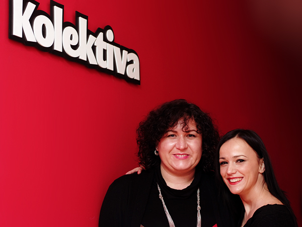 Marina Djukanovic, Kolektiva Crioatia CEO and Martina Usmiani, Kolektiva co-founder (Photo: Marina Filipovic Marinshe)
