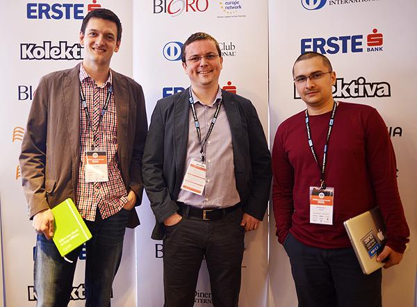 Incho taem: Aron Stanic, Tomislav Bilic i Branko Ajzele (Photo: Marina Filipovic Marinshe)