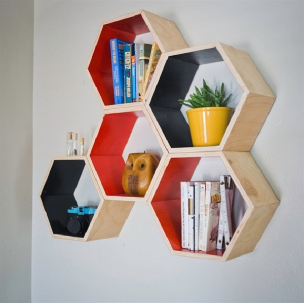 Squee Honeycomb Shelves