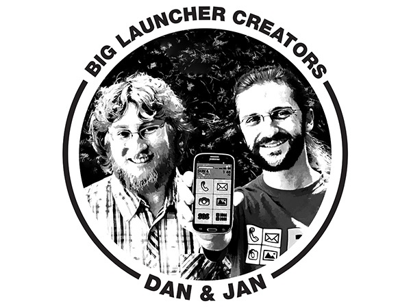 Dan Kunes and Jan Husak, friends and BIG Launcher cofounders.