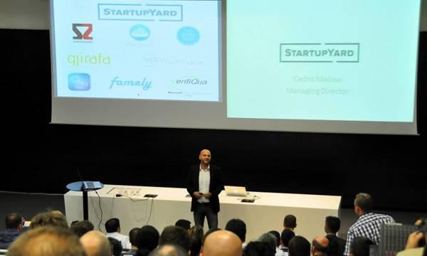 Cedric Maloux, Director of Startup Yard
