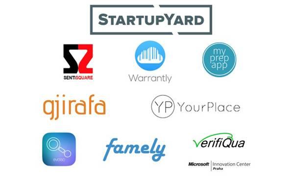 Startup Yard Demo Day teams