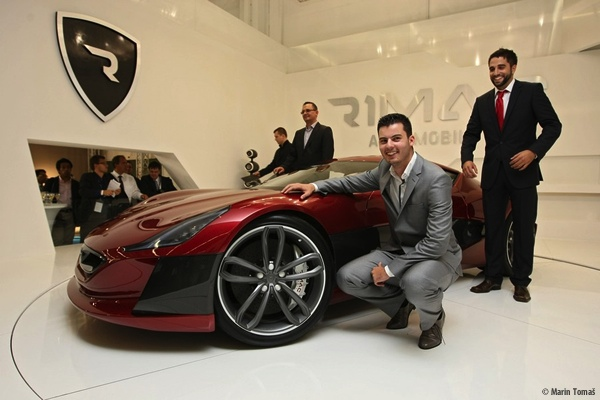 Croatian startup Rimac Automobili is best known for their electric supercar Concept One