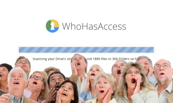 WhoHasAccess is a must-have if you use Google Drive