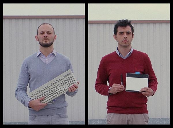Tomislav and Edgar, Walpie's creators.