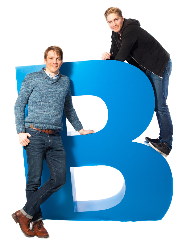 Istvan and Balazs Haidekker, AutoHop's cofounders.