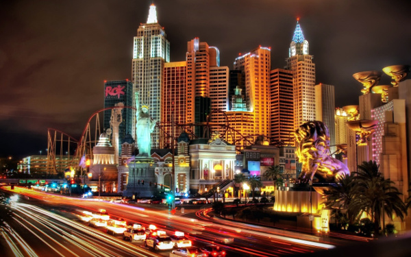 A multitude of events and people in just 48 hours – all in accordance with the conference venue, Las Vegas.
