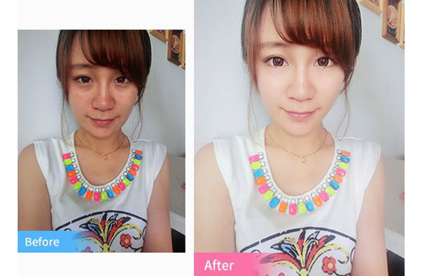 Meitu Pic – who needs Photoshop? Quick and efficient self-embellishment in just a few click on your mobile phone.